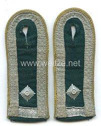 Wehrmacht Heer Paar Schulterstücke für einen Feldwebel Nachrichten