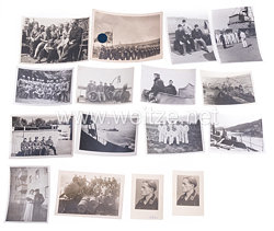 Kriegsmarine Fotogruppe, Soldat auf einen Minensuchboot in Norwegen
