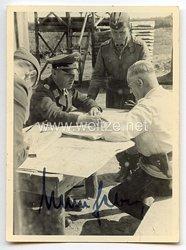 Luftwaffe - Originalunterschrift von Ritterkreuzträger Hauptmann Joachim Müncheberg