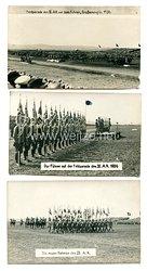 3. Reich Fotos, Adolf Hitler auf der Feldparade des IX. Armeekorps 1936