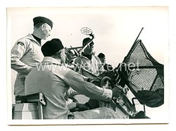Kriegsmarine Pressefoto, Bordflak aller Kaliber stets feuerbereit 3.5.1941