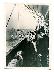Kriegsmarine Pressefoto, auf der Pirsch nach den Schiffsfeinden 16.4.1941