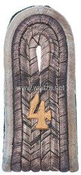 Preußen Einzel Schulterstück für einen Leutnant im Jäger-Regiment zu Pferde Nr. 4