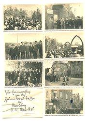 3. Reich Fotos, Aufmarsch in Marburg 11.5.1935