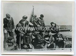 Kriegsmarine Pressefoto, Schnellboote im Schwarzen Meer 7.1.1944
