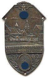 """NSKK / DDAC - nichttragbare Teilnehmerplakette - """" Nachtorientierungsfahrt 3. Nov. 1934 """""""