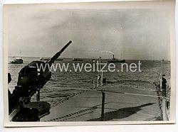 Kriegsmarine Pressefoto, Nachschub über das Schwarte Meer 26.1.1943