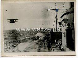 Kriegsmarine Pressefoto, Im Geleit unserer Torpedoboote 26.2.1941