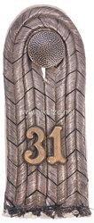 Preußen Einzel Schulterstück für einen Leutnant im Infanterie-Regiment Graf Bose (1. Thüringisches) Nr. 31