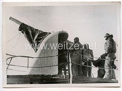 Kriegsmarine Pressefoto, Alarm auf hoher See 26.2.1940