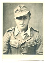 Luftwaffe Portraitfoto, Unteroffizier in Tropenuniform