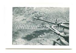 Luftwaffe Foto, Maschinengewehr Übungsschießen
