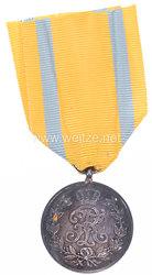 Sachsen Königreich Friedrich August Medaille in Silber