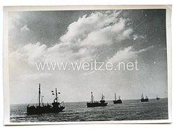 Kriegsmarine Pressefoto, Minensucher bei der Arbeit 10.12.1940