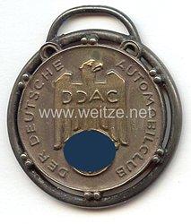 """Der Deutsche Automobil Club ( DDAC ) - tragbare Verdienstmedaille - """" Herrn Richard Hilt jr. für besondere Verdienste 24.12.1938 - Der Präsident """""""