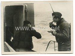 Kriegsmarine Pressefoto, Von der Transportleistung der deutschen Kriegsmarine