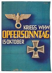 III. Reich - farbiges Plakat -