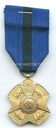Belgien Orden Leopold II. Verdienstmedaille Gold
