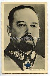 Heer - Portraitpostkarte von Ritterkreuzträger Generalmajor Julius Ringel