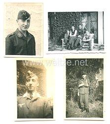 Luftwaffe Fotos, Unteroffizier eines Panzerverbandes in einer Luftwaffen-Felddivision