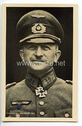 Heer - Portraitpostkarte von Ritterkreuzträger General Otto von Knobelsdorff