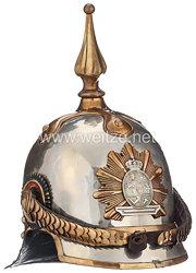 Großherzogtum Mecklenburg-Schwerin Helm Modell 1848 für Mannschaften der Dragoner