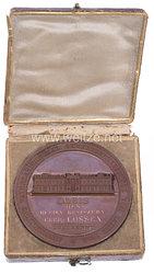 Preußen Staatspreismedaille für vaterländische Gewerbeerzeugnisse von 1844 - gegeben an den herzoglich-nassauischen Geheimen Oberbergrat Carl Maximilian Lossen