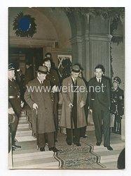 3. Reich Pressefoto: Britische Botschafter Henderson in Berlin 24.9.1938
