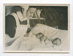 3. Reich Pressefoto: Die Drillinge von Mochau 19.3.1941