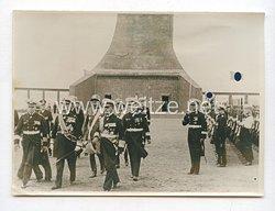 3. Reich Pressefoto: Admiral Horthy ehrte die deutschen Seehelden 23.8.1938
