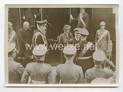 3. Reich Pressefoto: Reichsverweser Horthy in Wien