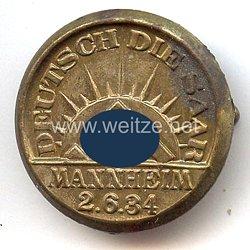 """III. Reich - """" Deutsch die Saar """" Mannheim 2.6.1934"""