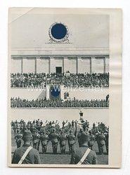 3. Reich Pressefoto: RAD beim Appel während des Reichsparteitages