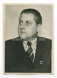 3. Reich Pressefoto: Staatssekretär Leopold Gutterer