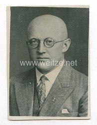 3. Reich Pressefoto: Paul Batzer Gaupropagandaleiter der NSDAP