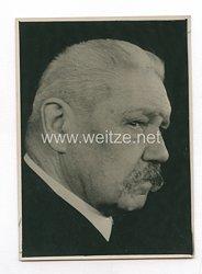 3. Reich Pressefoto: Hindenburg