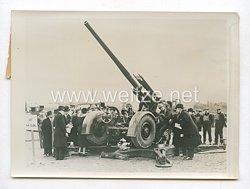 3. Reich Pressefoto: In Adlershot wurden jetzt die neuesten Typen der Waffen der englischen Armee gezeigt 23.2.1939