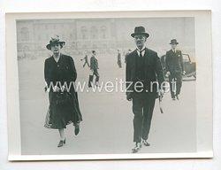 3. Reich Pressefoto: Ministerpräsident Chamberlain kehrte vorzeitig aus dem Urlaub zurück. 22.81938