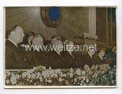 3. Reich Pressefoto: Reichsminister Dr. Goebbels spricht zu den deutschen Filmschaffenden 10.3.1939