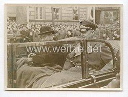 3. Reich Pressefoto: Kaiserlich Japanische Minister des Auswärtigen Yosuke Matsouka und Reichsminister von Rippentrop in Berlin 26.3.1941