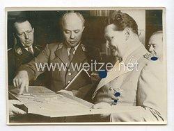 3. Reich Pressefoto: Reichsmarschall Hermann Göring empfing zahlreiche Gebrutstagsgratulannten