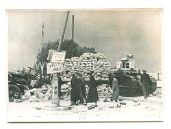 Wehrmacht Pressefoto: Nach den Straßenkämpfen in Rouen 20.6.1940