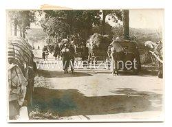 3. Reich Pressefoto: Millionen Flüchtlinge ziehen über Frankreichs Landstraßen. 5.7.1940