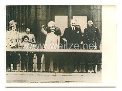 3. Reich Pressefoto: Präsident Lebrun in London. 21.3.1939