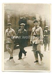 3. Reich Pressefoto: Ein junger französischer Soldat bewirkte die Festnahme einer gefährlichen Diebesbande in Toulon. 19.6.1939