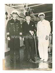 3. Reich Pressefoto: Rio de Janeiro Botschafter Dr. Schmidt-Elskop