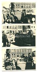 III. Reich Fotos, Begrüßung eines Diplomaten