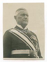 Weimarer Republik Pressefoto: Admiral Scheer