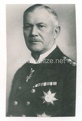 Weimarer Republik Pressefoto: Admiral Reinhardt