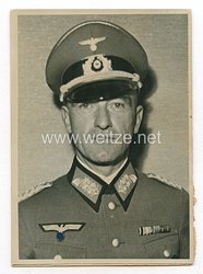 Wehrmacht Pressefoto: Generalmajor Eugen Müller